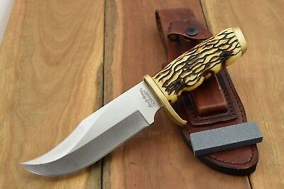 Uncle Henry Large Pro Hunter Rat Tail Tang Fixed Blade Knife 7Cr17 Hunting 171UH