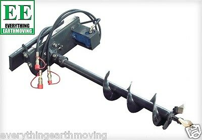Post Hole Auger Drive Unit suit mini digger, skid steer, mini loaders like dingo