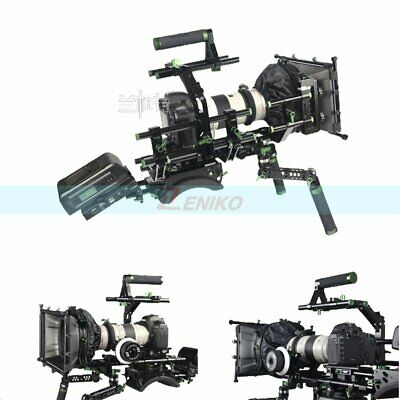 Lanparte DSLR Professional Kit Complete Rig With Matte Box Monitor Follow Focus
