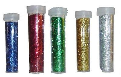 Glitter Shaker Art Craft Card School Decor Xmas Nail Pots Sprinkler Cap Tubes