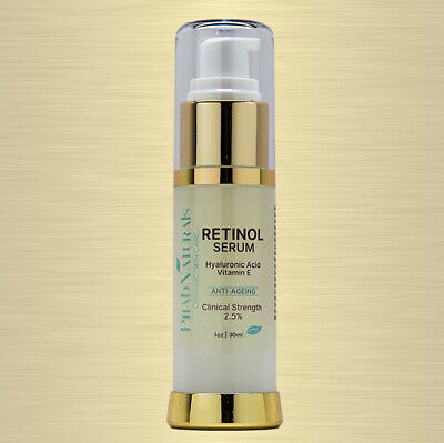 Pure Retinol Serum Vitamin A 2.5% + Hyaluronic Acid - Retinol Wrinkle Cream