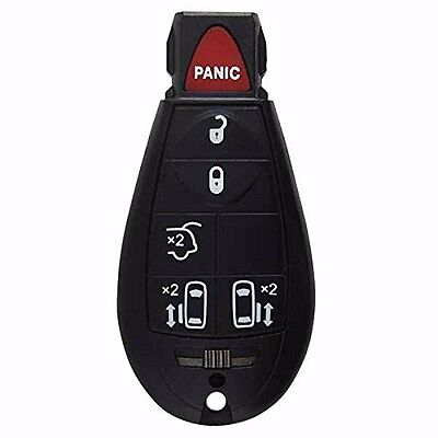 6 Button Remote Key Shell Case for Dodge Chrysler Grand Caravan Town Country FOB