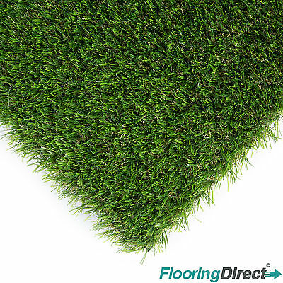 Artificial Grass Mat 30mm Thick - Greengrocers Fake turf Astro Lawn - 6ft x 3ft