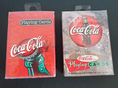 COCA-COLA Playing Cards SEALED DECK Pair Polar Bears Order #351 Free Ship NEW