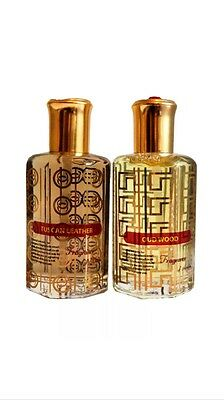 Tuscan Leather 36Ml & Oud Wood 36Ml Exclusive To Fragrance Of Arabia Pack Of 2