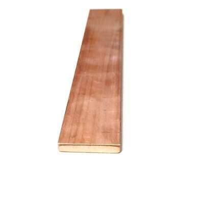 "Copper Flat Bar Stock 3/16"" x 1"" x 6""- Knife making, hobby, craft, C110- 1 Bar"