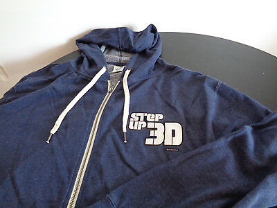 STEP UP 3D Promotional Hoodie Sweatshirt TOUCHSTONE PICTURES Dance Movie XL