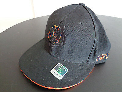 CINCINNATI BENGALS Football REEBOK Fitted NFL Cap Hat NEW Size 7 3 8 FREE  SHIP be0c06c79