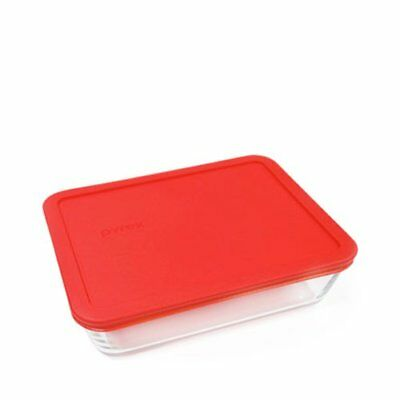 NEW Pyrex Rectangle Storage 2.6L Red