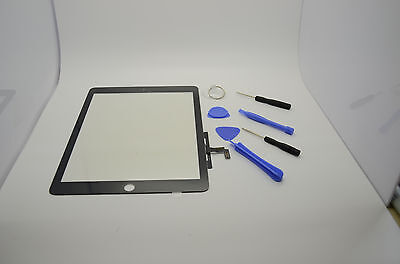New Touch Screen Glass Digitizer Lens Replacement For iPad Air 1 black