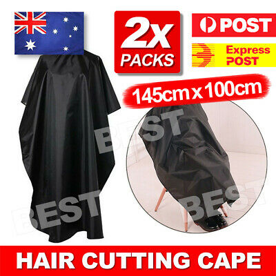 2x Hair Cutting Cape Hairdressing Nylon Styling Pro Salon Barber Gown Cloth AU