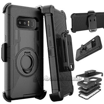 Shockproof Rugged Hybrid Armor Case Cover With Holster Belt Clip Stand For phone