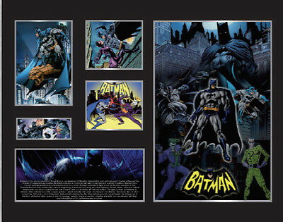 New Batman Comics Limited Edition Memorabilia Framed
