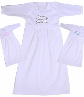 BabyPrem Baby Clothes Day Gown Nightie Nightgown Nightdress Sleepgown Boys Girls