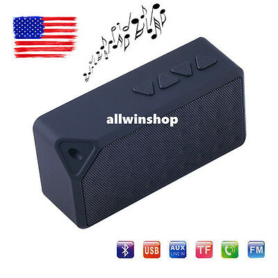 Bluetooth Wireless Speaker Mini Portable Super Bass For iPhone phone Tablet PC W