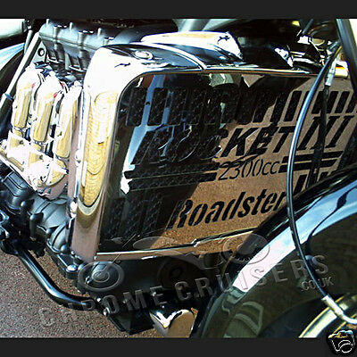 Triumph Rocket Iii Roadster Classic Chrome Radiator Cover Guard Grill