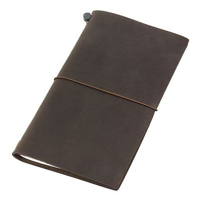 Midori Traveler's Notebook Brown Leather