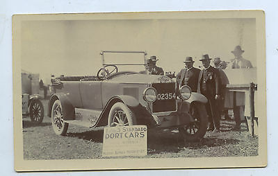 1915 Rp Postcard Dort Car Murray Aunger Motors Hawker Show (Harry Dutton) C45