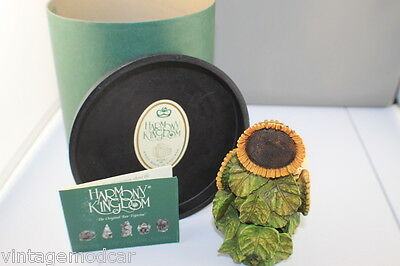 Harmony Kingdom The Sunflower Redemption Piece RW97SU Made in England  Mint