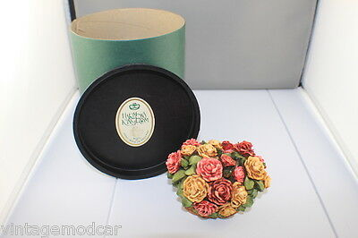 Harmony Kingdom The Rose Basket Limited Edition SIGNED Made in England  Mint