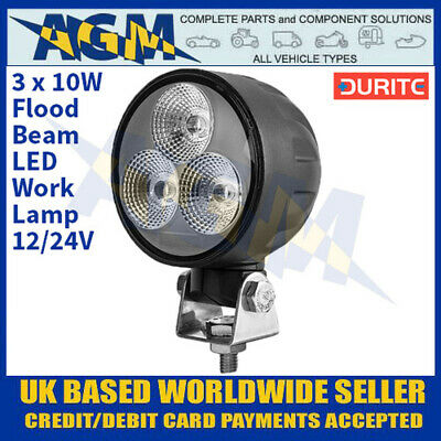 0-420-69 DURITE 12v / 24v 4 LED COMPACT POWERFUL WORK LAMP OR SEARCH LIGHT