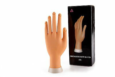Glow Premier soft hand for nail art practice - manicure practice