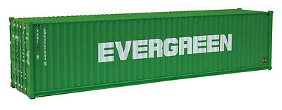 Walthers HO 40' Evergreen Container 949-8258 Intermodal 1:87