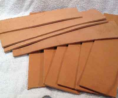 NEW NATURAL Leather replacement Strop for Straight blades knives premiumhide