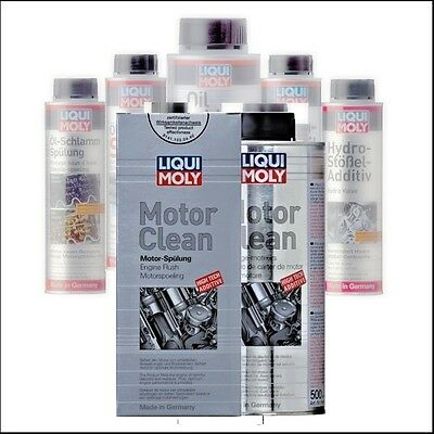 1019 LIQUI MOLY Clean engine flushing Motor Cleanser Oil sludge conditioner