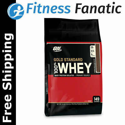 Optimum Nutrition Gold Standard 100% Whey Protein Powder - ON WPI WPC Isolate