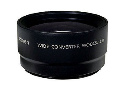 "NEW Canon WC-DC52 Wide Converter Lens 6866A001 for certain Powershot ""A"" cameras"