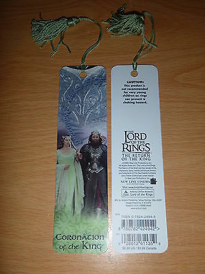 Lord of the Rings - The Return of the King CORONATION OF THE KING Bookmark