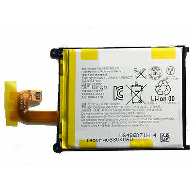Original Genuine Replacement Battery For Sony Xperia Z2 LIS1543ERPC 3200mAH New