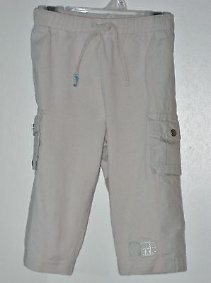 MEXX Boys Size 12 Months Beige Pull-On Cargo Pants