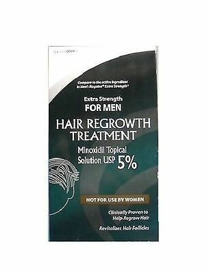 Actavis Minoxidil 5% Extra Strength for Men Hair Regrowth Treatment Sol - 2 oz