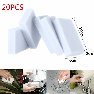 20PCs Best item for your home white sponge clean