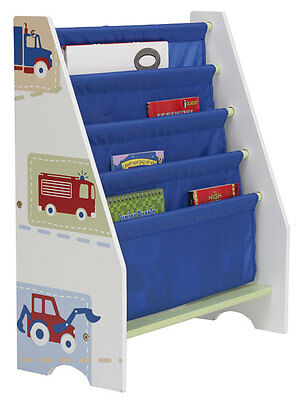 SET LETTO Boys Vehicles Sling Bookcase