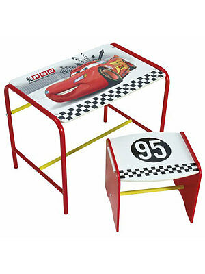COMPLETO LETTO Disney Cars Doodle Desk and Stool