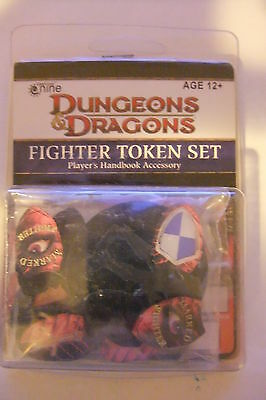 Dungeons & Dragons FIGHTER TOKEN SET - NUOVO Cod P50