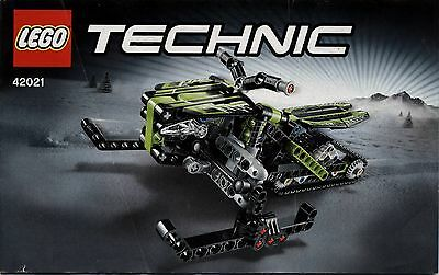 lego technic 8046 helicopter 2 hefte bauanleitung. Black Bedroom Furniture Sets. Home Design Ideas