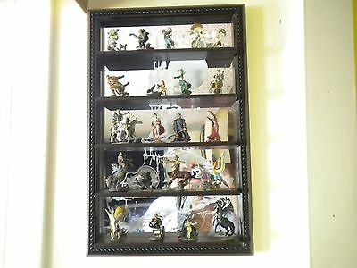 """Franklin Mint: """"Enchanted Mountain"""" 20 Mystical, Hand Painted Pewter Figurines"""