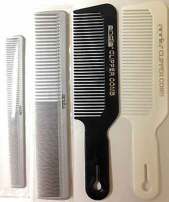 Pick Any 1 Andis Professional Barber Stylist Clipper Tapering Comb Cutting Brush