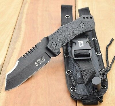 MTech USA XTREME TACTICAL FIXED BLADE KNIFE Combat Bush Hunting Survival MX-8123