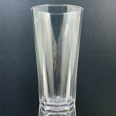 24x Polycarbonate Penthouse Pint Glass 570ml / Unbreakable Drinkware