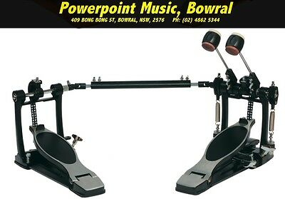 Sonic Drive Rock Twin Bass Drum Pedal in Black Brand New! Free Shipping!