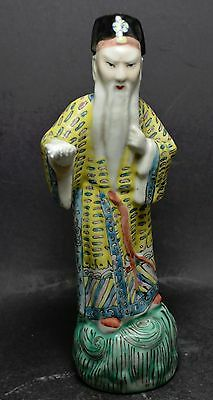 Antique Chinese Export Porcelain Figurine ~ 8''~
