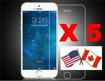 5 iPhone 6S 4.7 Front Matte Screen Protector ANTI FINGER PRINT FREE FAST SHIPPIN