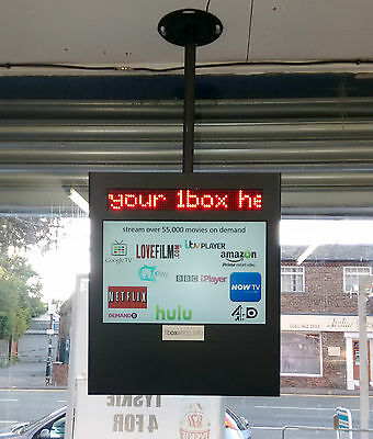 LED scrolling display media screen advertising promotion exhibition stand sign