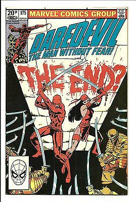 DAREDEVIL # 175 (Frank Miller Art, ELEKTRA app. OCT 1981), VF/NM