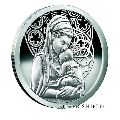 2015 Silver Shield Emmanuel - Peace 1 oz .999 Silver Proof-Like Round USA Coin